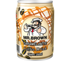 MR.BROWN CARAMEL LATTE